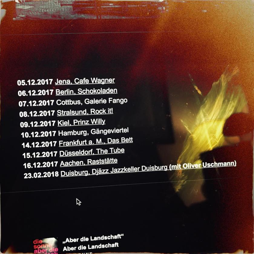 DieSonne_Tourstart_1